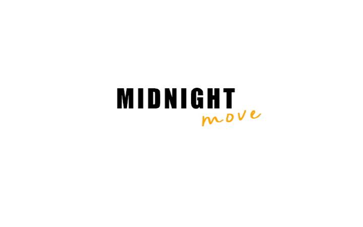 미드나잇 무브(MIDNIGHT MOVE) [unisex] label point t (white)