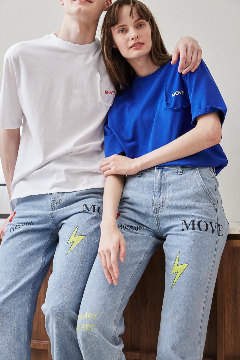미드나잇 무브(MIDNIGHT MOVE) [unisex] move t (blue)