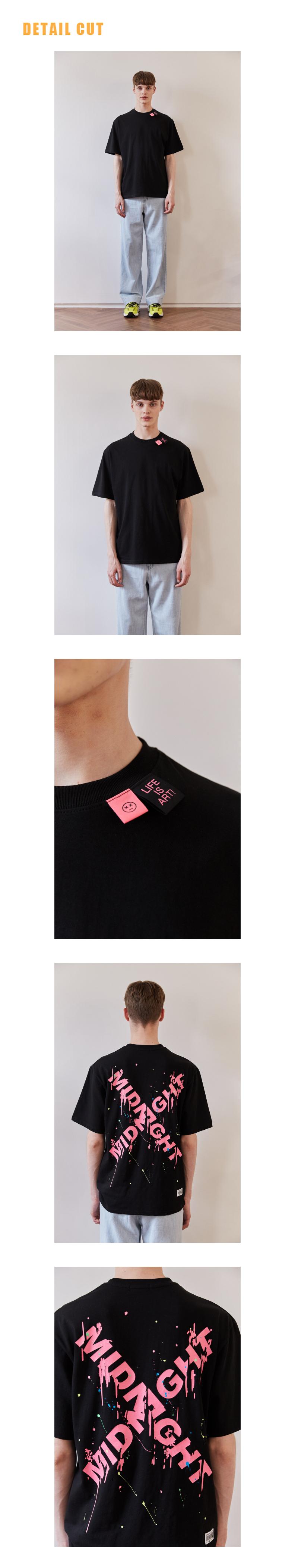 미드나잇 무브(MIDNIGHT MOVE) [unisex] label point t (black)